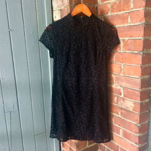 Aritzia Talula Black Lace Dress